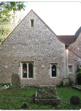 St peter st pauls church project shields stonework for Chaldon church mural